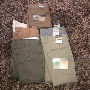 7 pair BUNDLE!!! St. John's Bay men shorts